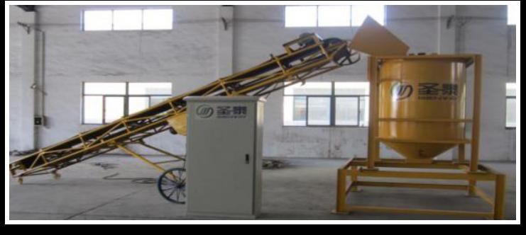 双轴粉碎混合成套机械设备