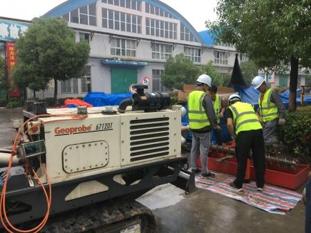 江苏省某化工公司生产区地块土地修复调查监测工程