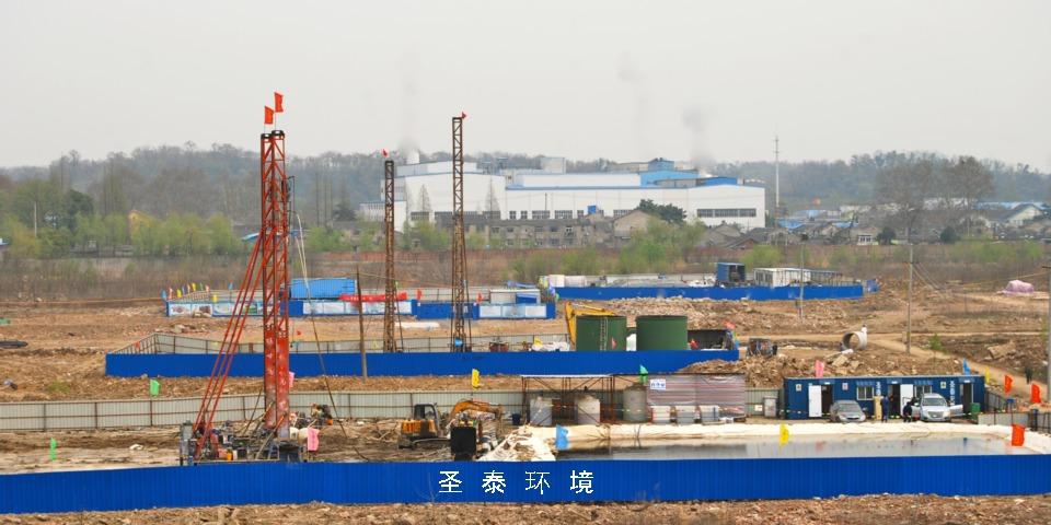 原位化学氧化:南京某企业搬迁遗留场地土壤和地下水修复中试工程